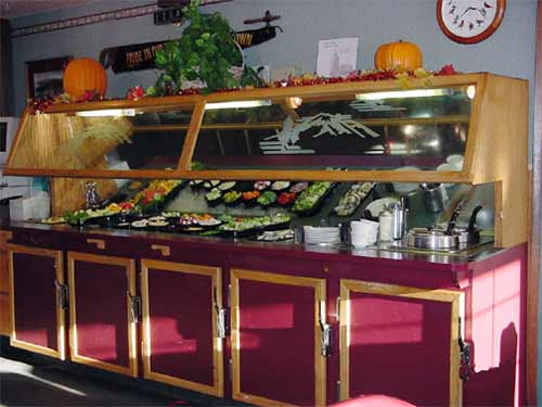 Our well-stocked soup and salad bar is one of the finest to be found in Siskiyou County.
